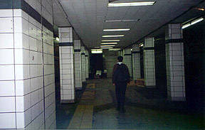 photo of lower Bay subway station