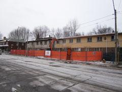 Dec 13, removing stucco